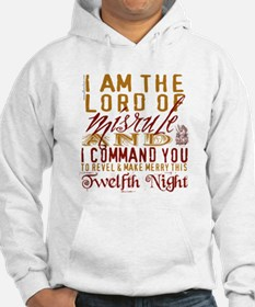 Lord of Misrule/Twelfth Night Hoodie