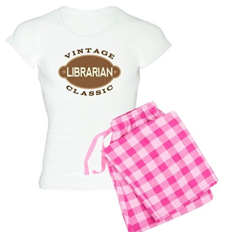 Librarian Vintage Classic Women's Light Pajamas