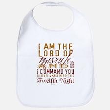 Lord of Misrule/Twelfth Night Bib