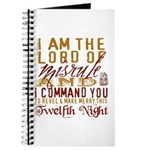 Lord of Misrule/Twelfth Night Journal