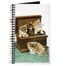 4 Victorian Kittens Journal