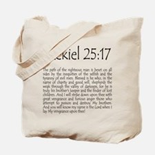 ezekiel2517 quote.png Tote Bag