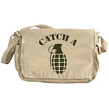 catch a grenade.png Messenger Bag