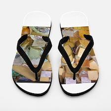 Cheese Flip Flops
