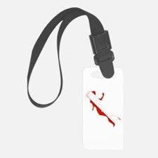 Mermaid Diver Luggage Tag