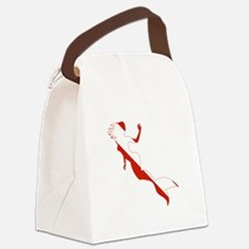 Mermaid Diver Canvas Lunch Bag