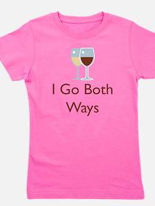 I go both ways.png Girl's Tee