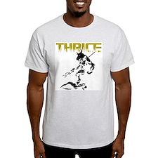 Thrice; The revengful yet ben Ash Grey T-Shirt