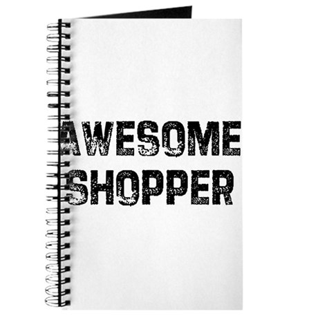 Awesome Shopper Journal
