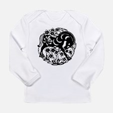 PaperCut Chinese Zodiac Horse Long Sleeve Infant T