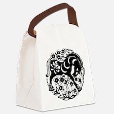 PaperCut Chinese Zodiac Horse Canvas Lunch Bag