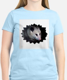 Awesome Possum Women's Pink T-Shirt