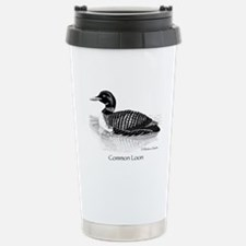 Common Loon Travel Mug