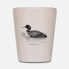Common Loon Shot Glass