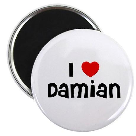 "I * Damian 2.25"" Magnet (10 pack)"