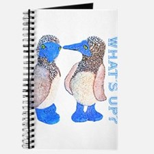 whats up blue footed boobie Journal