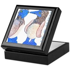 whats up blue footed boobie Keepsake Box