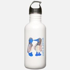 whats up blue footed boobie Water Bottle
