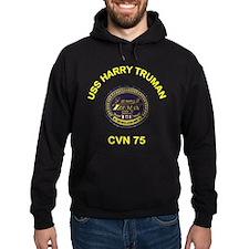 USS Harry Truman CVN 75 Hoodie