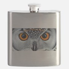 Blue Moon Oracle Logo Flask