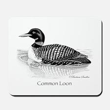 Common Loon Mousepad