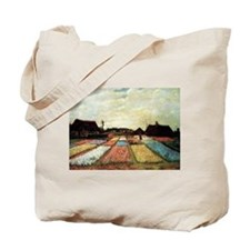 Bulb Fields by Van Goghyyinyyin copy Tote Bag