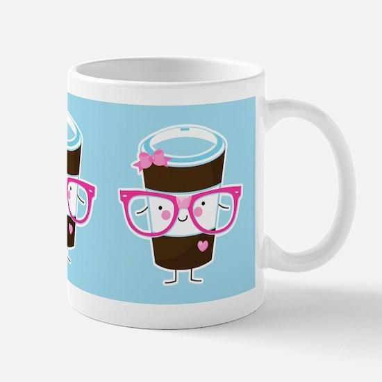 Nerdy Kawaii Coffee Mug