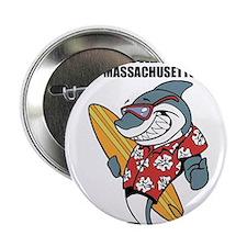 """Nantucket Island, Massachusetts 2.25"""" Button"""