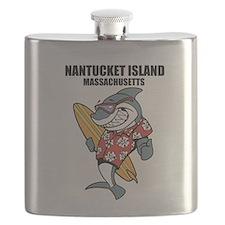 Nantucket Island, Massachusetts Flask
