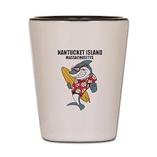 Nantucket Island, Massachusetts Shot Glass