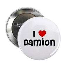 "I * Damion 2.25"" Button (10 pack)"