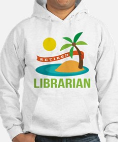 Retired Librarian (Tropical) Hoodie