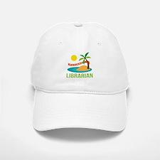 Retired Librarian (Tropical) Baseball Baseball Cap