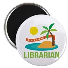 Retired Librarian (Tropical) Magnet