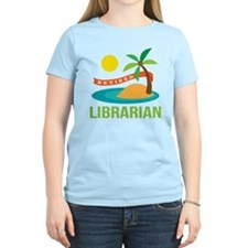 Retired Librarian (Tropical) T-Shirt