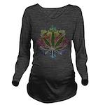 Weeds emblem copy.png Long Sleeve Maternity T-Shir