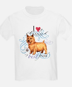 Norwich Terrier Kids T-Shirt