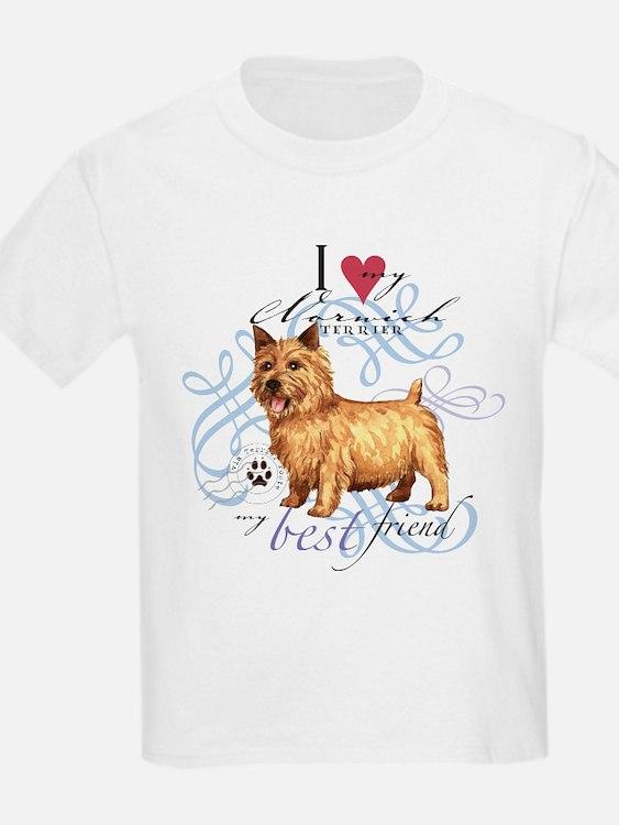Norwich Terrier Kids T-Shirt