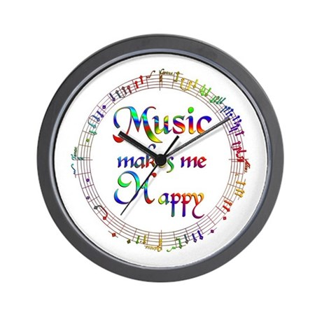 Music Clocks Music Wall Clocks Large Modern Kitchen Clocks