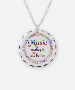 Music Makes it Better Necklace