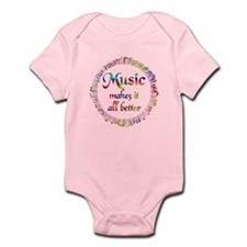 Music Makes it Better Infant Bodysuit