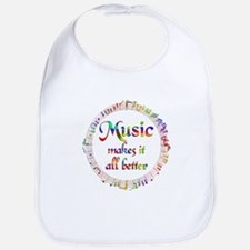 Music Makes it Better Bib
