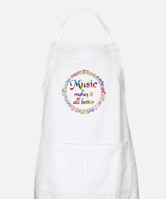 Music Makes it Better Apron