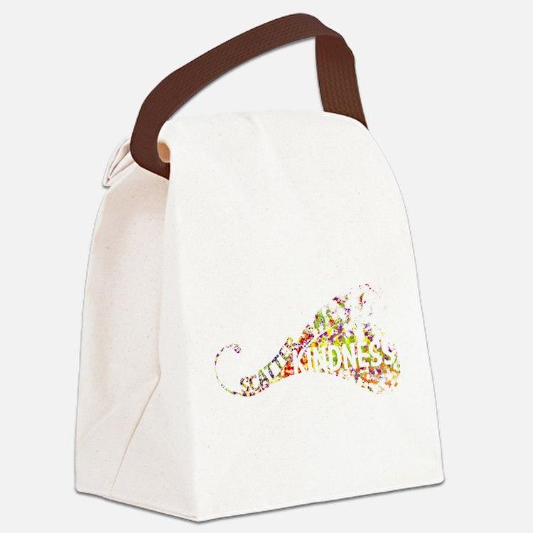 Scatter Kindness Canvas Lunch Bag