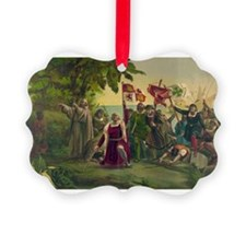 Christopher Columbus Ornament