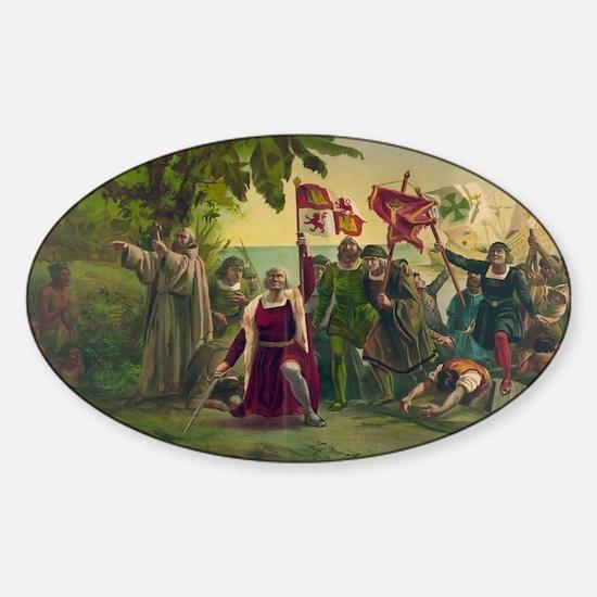 Christopher Columbus Decal