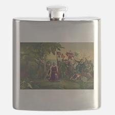Christopher Columbus Flask