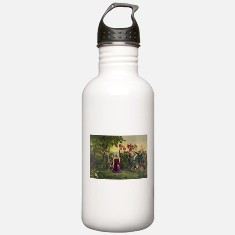 Christopher Columbus Water Bottle