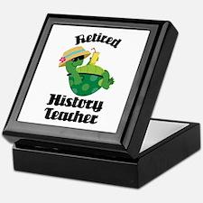 Retired History Teacher Keepsake Box
