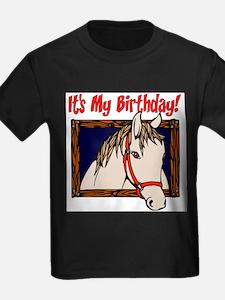 Horse Birthday T-Shirt